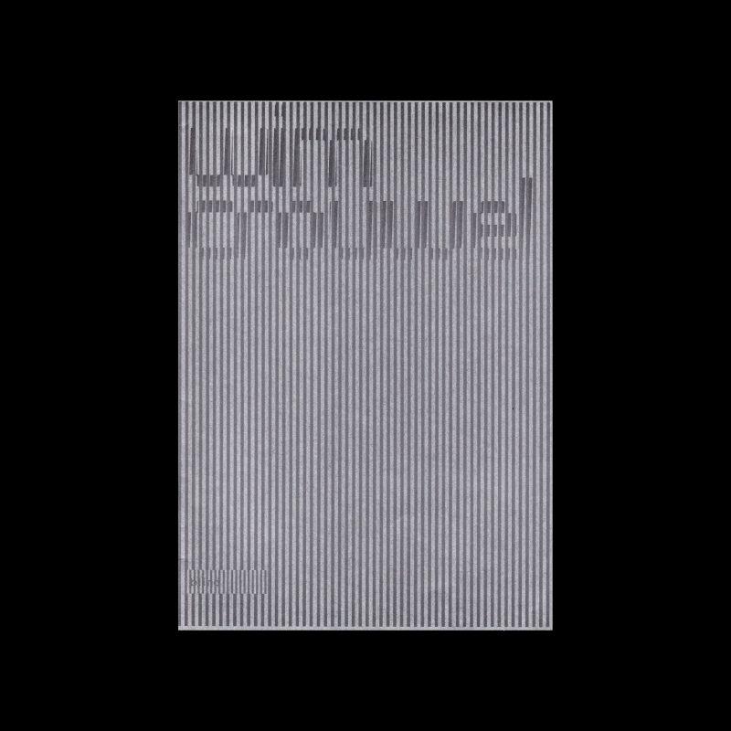 Wim Crouwel, Posters 1958-1971, Blind Gallery, Japan, 2012