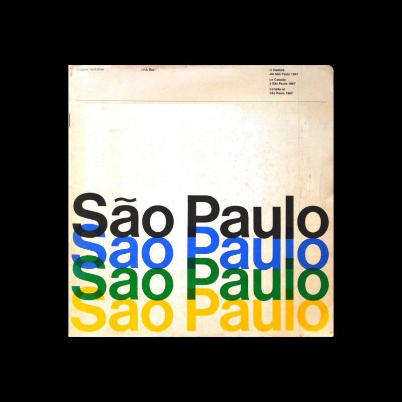Canada at São Paulo IX Biennale, 1967. Designed by Paul Arthur + Associates Limited
