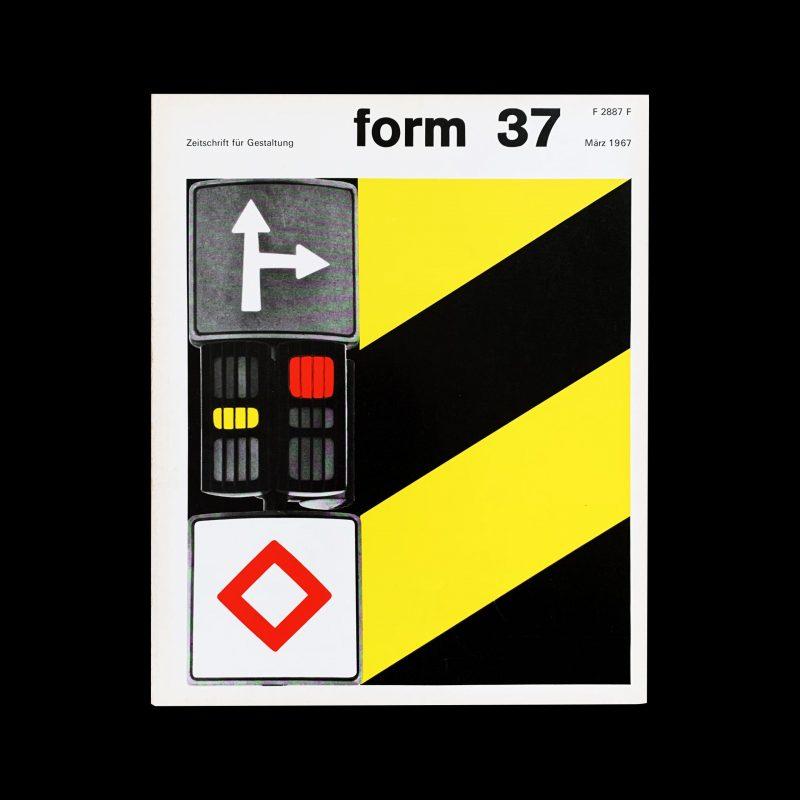 Form 37 1967 Cover design- Karl Oskar Blase