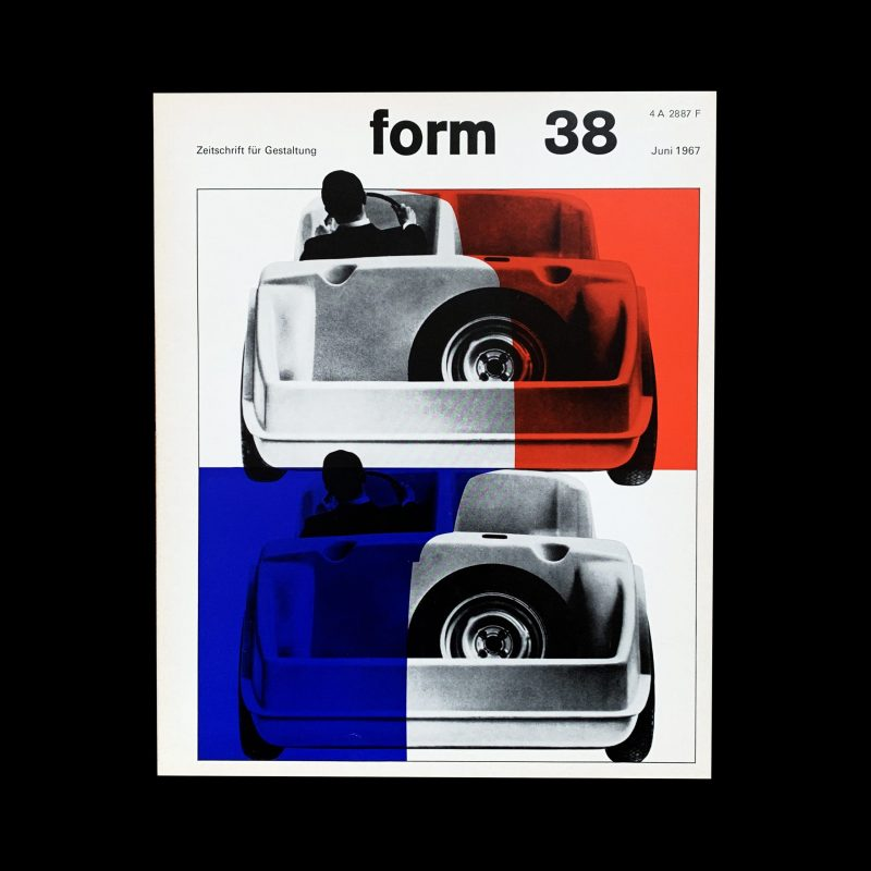 Form 38 1967 Cover design- Karl Oskar Blase