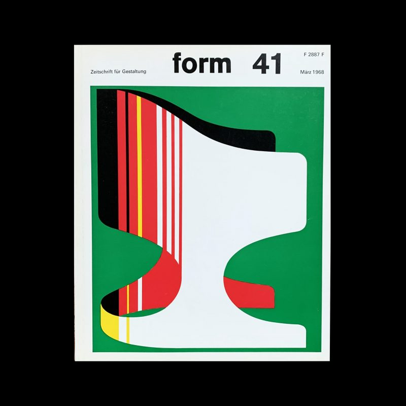 form 41 1968 Cover design- Karl Oskar Blase