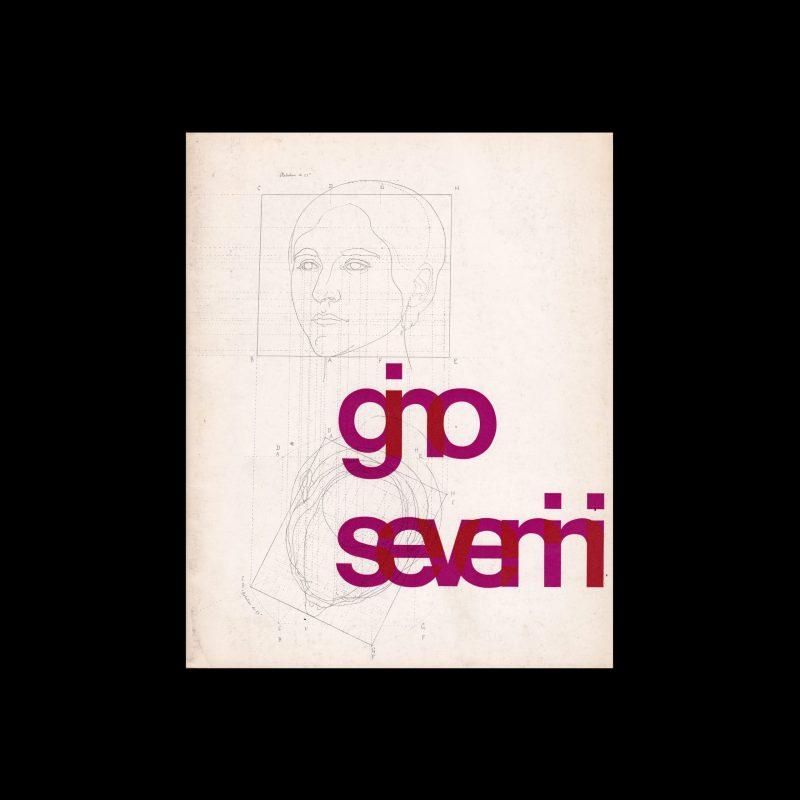 Gino Severini, Rotterdam Museum Boymans-van Beuningen, 1963 designer by Benno Wissing