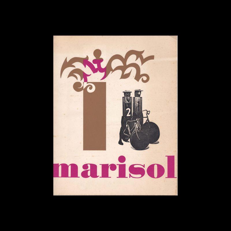 Marisol, Museum Boymans-van Beuningen, Rotterdam, 1968