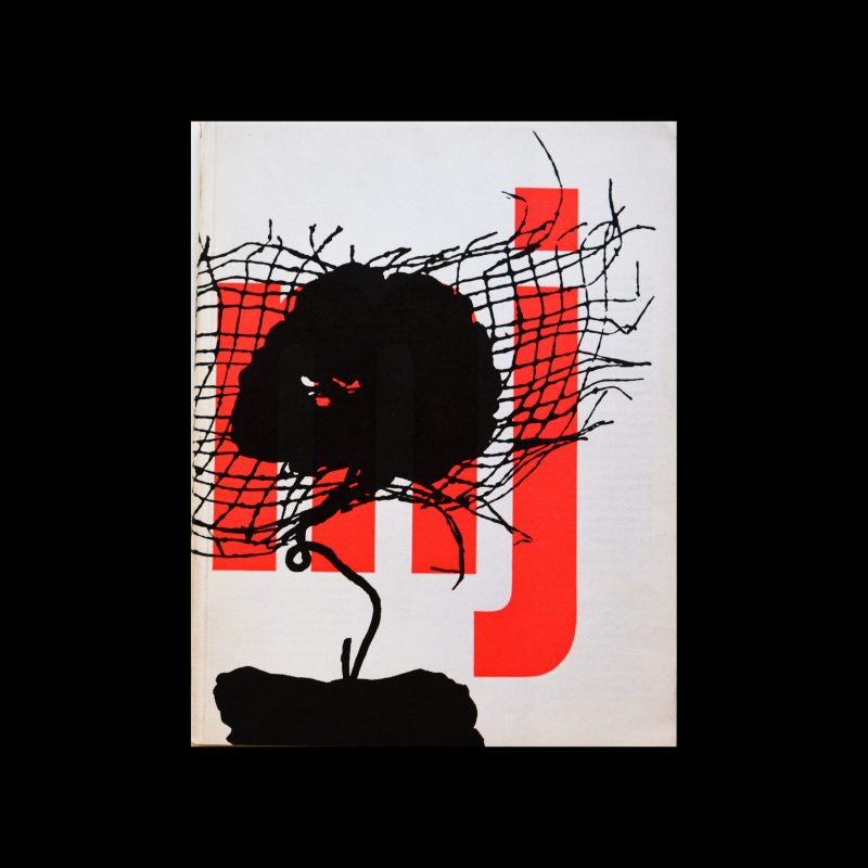 Museumjournaal, Serie 11 no 1-2, 1966. Designed by Jurriaan Schrofer