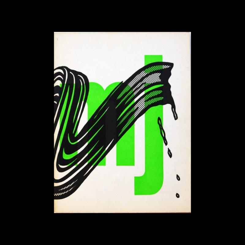 Museumjournaal, Serie 11 no 4, 1966. Designed by Jurriaan Schrofer