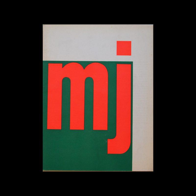 Museumjournaal, Serie 11 no 7, 1966. Designed by Jurriaan Schrofer