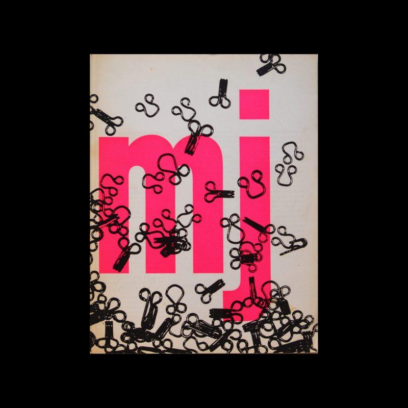 Museumjournaal, Serie 11 no 9-10, 1966. Designed by Jurriaan Schrofer