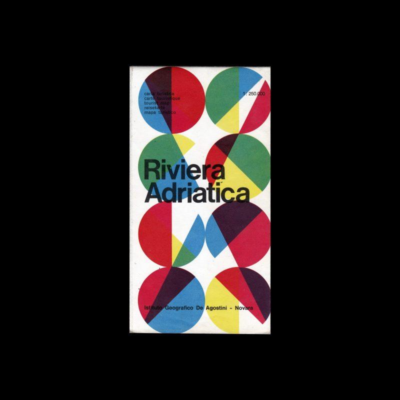 Riviera Adriatica travel guide designed by Max Huber